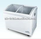 Curved glass-door chest freezer(SD/SC-360YA)