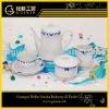 West style good quality porcelain tea set 15pcs