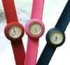 wholesales fashion kids watch/silicone slap watch