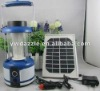 3w Rechargeable LED solar emergency lantern for campers
