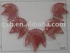 cherry quartz pendant set wholesale fashion necklace