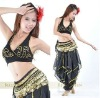 2012 Belly dance costume wear 2pcs set Top+pants 8101844316