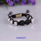 Fashion mens meaning shamballa bracelet