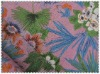 High quality printed linen fabric