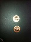 antique bronze souvenir coin