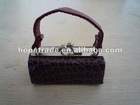 Purple and smart women coin purses with a closure
