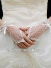 G01 Lace Fingerless Wrist Length Wedding Bridal Gloves