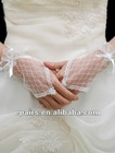 G01 Lace Fingerless Wrist Length Wedding Bridal Gloves