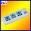 ST-PS01# multiple safety power socket three plugs