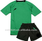 Customized breathable dry fit a set of football jersey