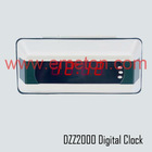 Coach and city bus train subway digital clock