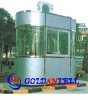 Low cost security guard house small steel house & sentry box house & prefabricated steel house
