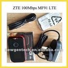 Latest ZTE MF91 4G LTE Router WiFi Hotspot