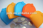 2012 new arrivel lady silicone wallet,best seller silicone coin wallet