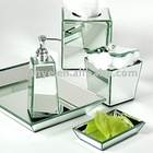 Silver mirror plain by handmade Bathroom Sets