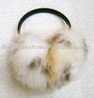 Fashion winter rabbit fur earmuffs