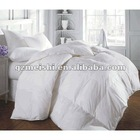 2012 Hot sale 100% polyester filling 230T down proof fabric cotton white shell summer quilts