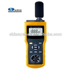 6 in 1 Multifunction Digital Environmental Tester With Temperature Humidity Sound Level Luminometer Anemometer YH2061