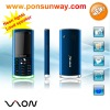 2011 newest Neon light china mobile phone super slim big battery