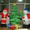 Inflatable Decoration Christmas Tree, Snowman, Santa Claus