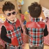 2013 new designer in red old fashioned coats for kids,children jacket