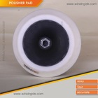 180mm white Polisher Pads