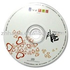 80mm CD replication disk