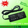 AC adapter for Acer 19V 1.58A 30W 4.0*1.7mm