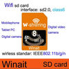 The newest design wifi sd card 8GB for Camera, Tablet PC and Other Devices