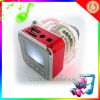 New Portable usb mini speaker LCD MP3 Player Speaker
