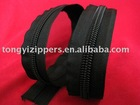 10# long chain nylon zipper