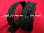 10# long chain nylon zipper