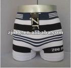 men's boxer briefs strips pattern seamless