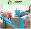 Scrap tire recycling machine wire extractor