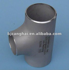 ANSIB16.9 stainless steel TP316 reducing tee