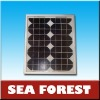 130w solar panel MONO AND POLY CRYSTALLINE
