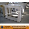 white marble fireplace sculpture