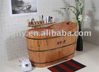red cedar wood hot tub