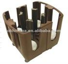 Plastic/polyethylene dish caddy/ Size:900*720*800mm