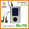Promotional Mini Solar Am/fm Radio