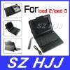 For iPad 2 3 Bluetooth Keyboard Litchi Folding Leather Case