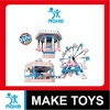 intelligent Puzzle toys 3D plastic Building Block of amusement park