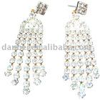 2011 Fashion Earring;Rhinestone earring ;Popular earring