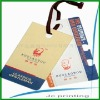 Customized colthin paper hang tags