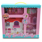 Novelty and emulational family play house toy for kids