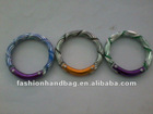 New arrival round carabiner with colorful pattern