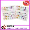 self-adhesive rhinestone sticker