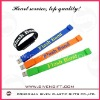 coloful wristband usb cover for promotion use