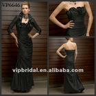 2012 Black Taffeta Meimaid sexy mother of the bride dresses