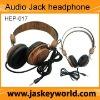 DJ headphones, wooden stylish wooden headphones(HEP-017)
